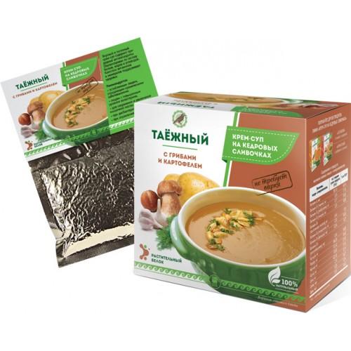 Крем-суп «Таежный» с грибами и картофелем  г. Реутов