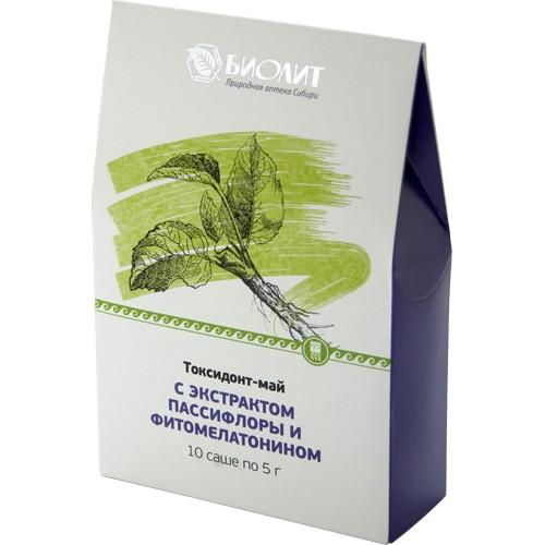 Токсидонт-май с экстрактами пассифлоры и фитомелатонином  г. Реутов