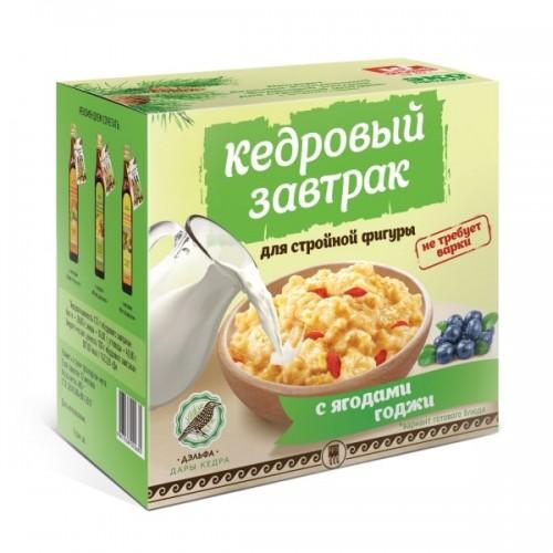 Завтрак кедровый для стройной фигуры с ягодами годжи  г. Реутов
