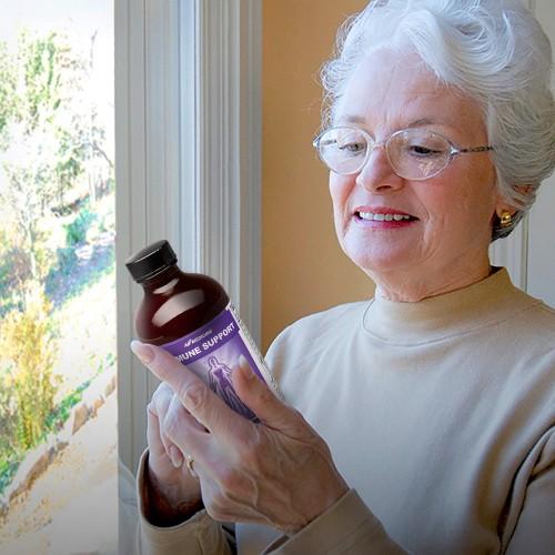 Препарат из натуральных компонентов для повышения иммунитета в пожилом возрасте